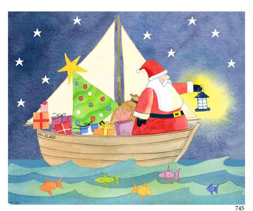 sailing-santa